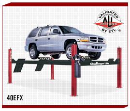 Challenger 4 Post 40 efx Auto Lift