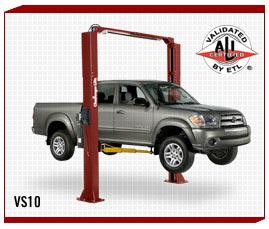 Challenger VS-10 Two Post Car Lift - Autoproequipment.com